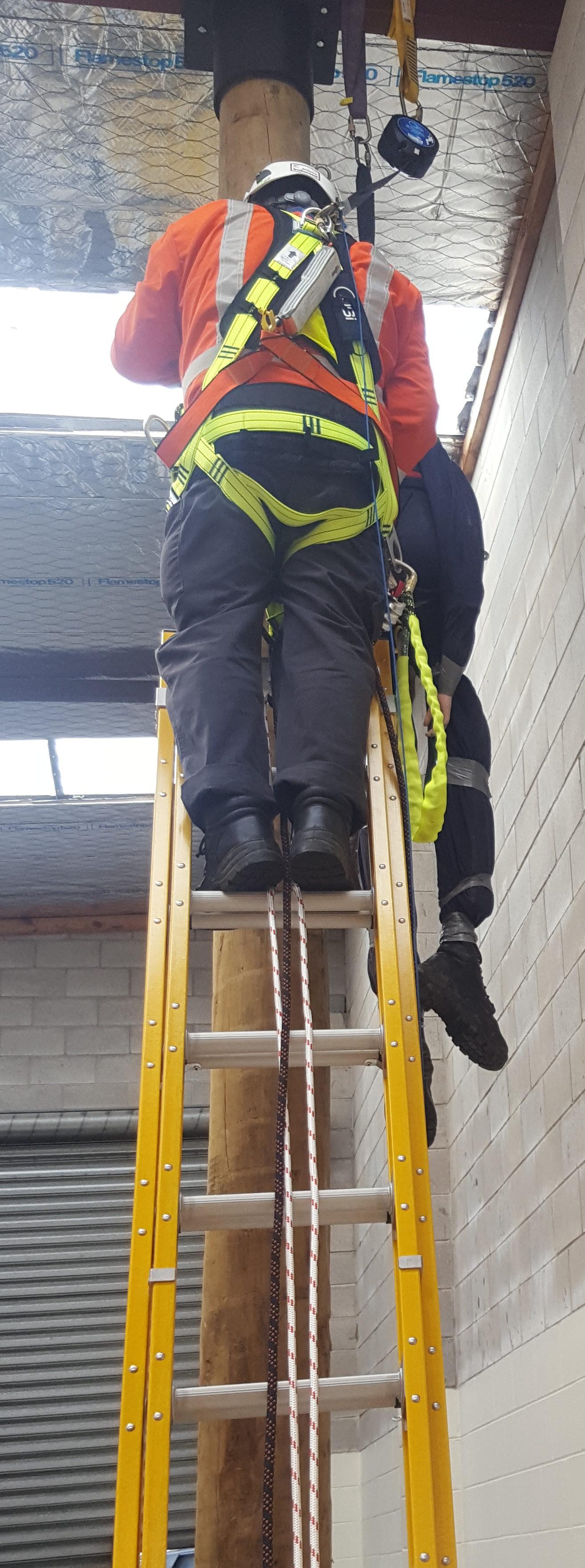 Pole top rescue 3